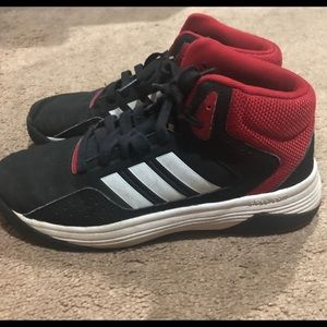 Adidas Black & Red Men's Sneakers-Size 6-L@@k